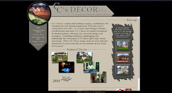 CC's Decor Custom Deck Building Service