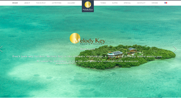 Melody Key Private Island Vacation Rental