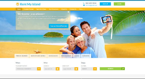Rent My Island Vacation Rentals