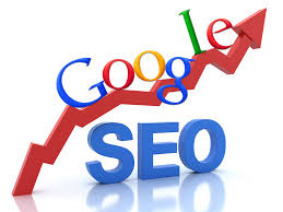 Google SEO up arrow picture